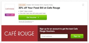 Cafe-rouge voucher